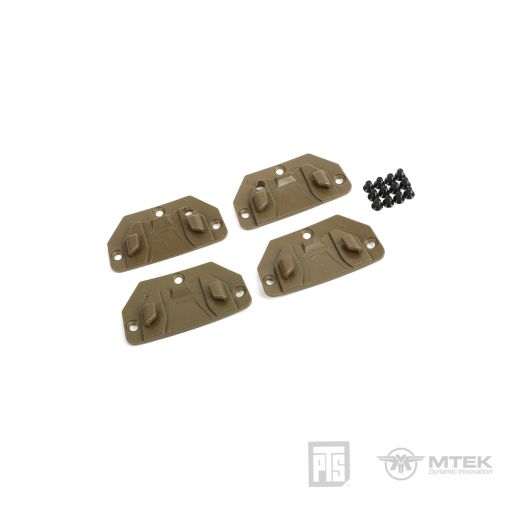 PTS MTEK FLUX Hook for Retention Strap Coyote Brown