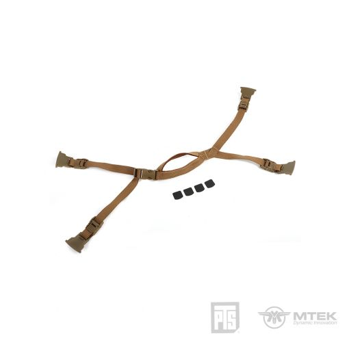 PTS MTEK FLUX Retention System Coyote Brown