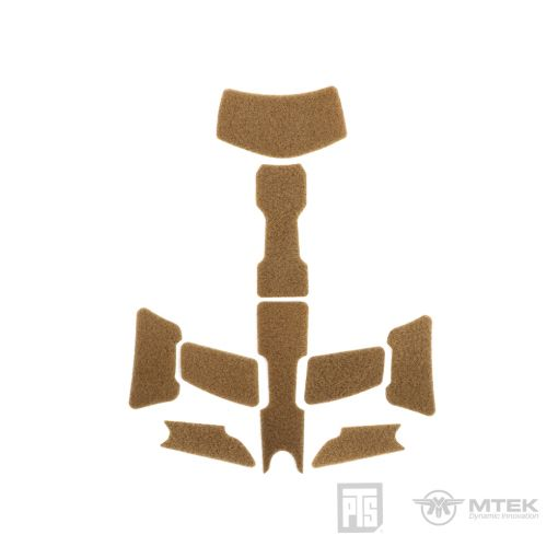 PTS MTEK FLUX Exterior Velcro Kit Coyote