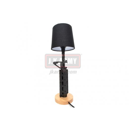 MF AR / M4 RIS Tactical Style Table Lamp ( Black )