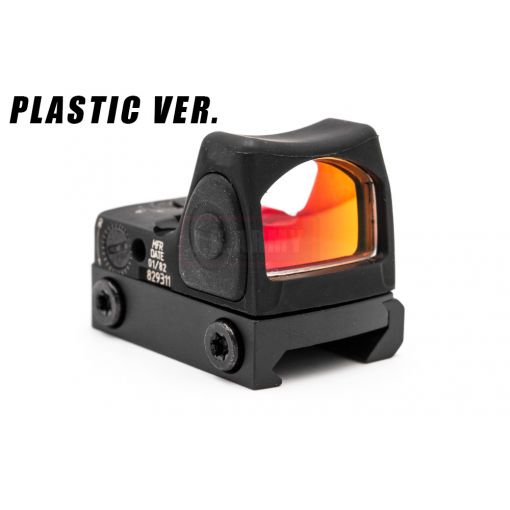 MF Plastic Nylon Ver. RMR Style Airsoft Red Dot ( Black )