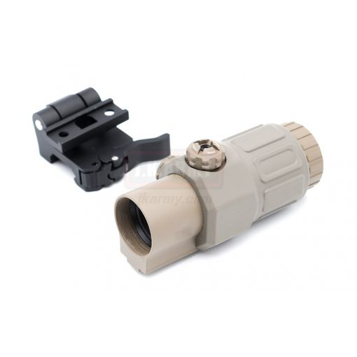 MF/EG 33 Style Magnifer 3X MIL Deluxe with Mount ( Matte Ver. )