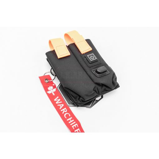 Warchief MF Warmer Preheat Function Double Pistol Magazine Pouch ( Black )
