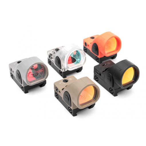 MF SR Style Airsoft Red Dot Sight ( Nylon Ver. SRO Black / Tan / Grey / Transparent / Orange )