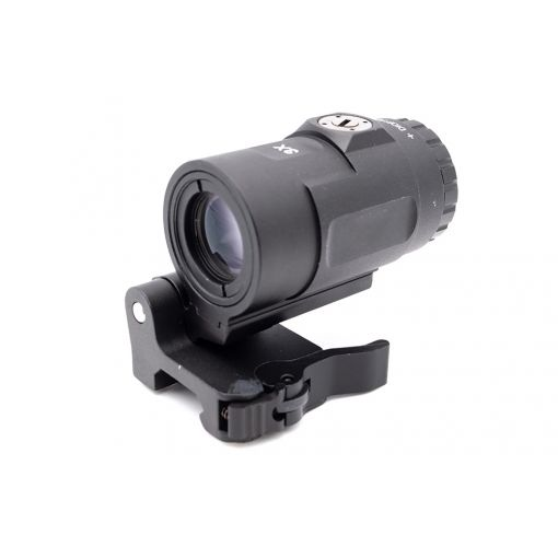 MF T Style 3X Airsoft Magnifier with QD Mount ( Black )
