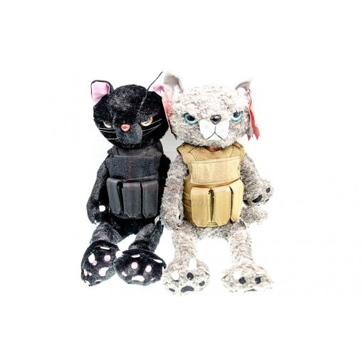 MF Tactical Kitty Doll ( BK / GY )