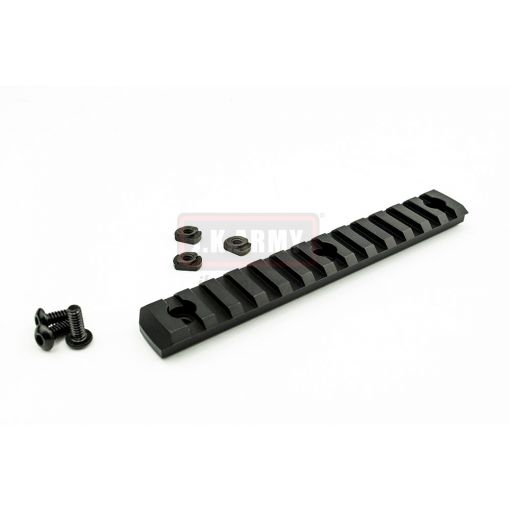 MF Aluminum M-LOK Rail 13 Section ( BK )