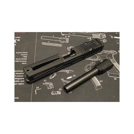 Nova SD-Style ( Window ) CNC Aluminum Slide Set For Marui Model 17 / 22 GBB Series