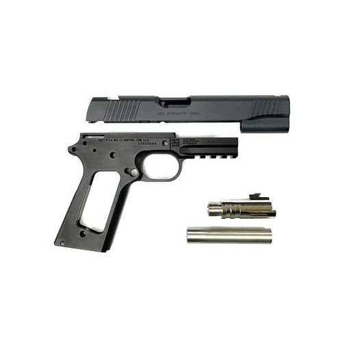 Nova M45A1 CQBP Aluminum Frame & Slide Kit for Marui Airsoft 1911 Series ( Black )
