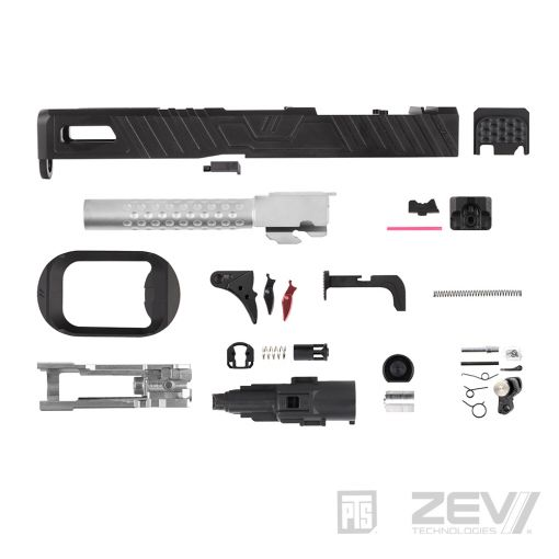 PTS ZEV Omen Slide Kit – TM Model 17 ( RMR / Leupold DP-PRO Cut ) (  ZV026490307 / ZV028490307 )