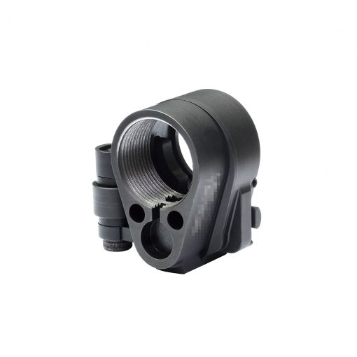 OMG GEN 3M AR Folding Stock Adaptor for TM MWS / VFC AR GBBR Airsoft Type ( Steel ) ( Black )