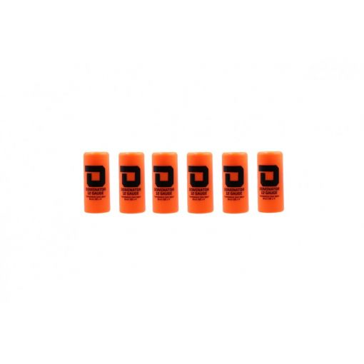 DOMINATOR™ 12 Gauge Gas Shotgun Shell Hulls - Orange ( 6 Shells / Pack ) ( DM870 )