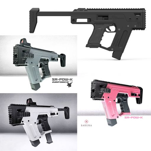 SRU Glock PDW SMG Kit for TM AEP 18 / TM, WE, KSC 17 / 18 / 34 / 35