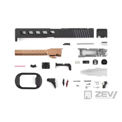 PTS ZEV Dragonfly Slide Kit for TM G Model 17 ( RMR / Leupold DP-PRO Cut )
