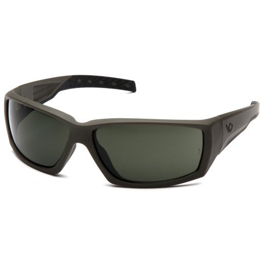 Pyramex Overwatch Shooting Glasses Forest Gray Anti-Fog Lens with OD Green Frame ( VGSG722T )