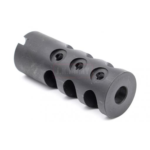 Revanchist Muzzle Brake for AK Airsoft Series 14mm CCW Thread ( Black )