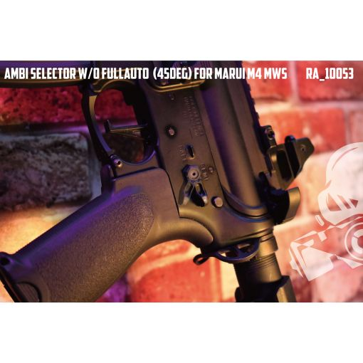 Revanchist Ambi Selector ( 45 Deg ) For Marui M4 MWS ( Black )