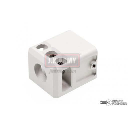 Ready Fighter TB Style V2 Micro Comp 14mm CW / CCW Thread ( Silver )