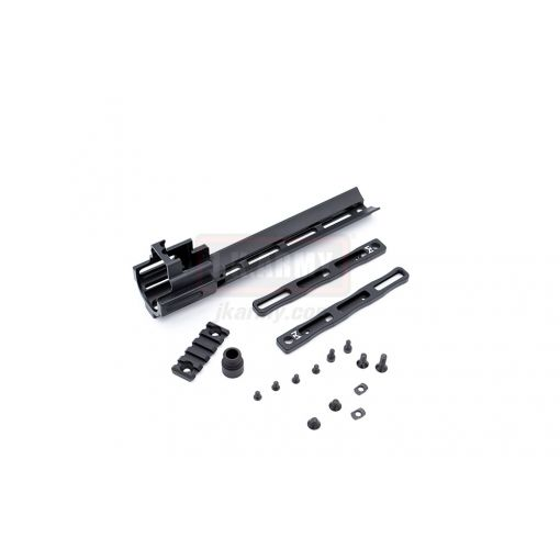 RGW M LOK Rail Kit for Cybergun WE SCAR GBBR ( BK )