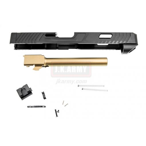 Pro-Arms Airsoft T Style CM34 Slide Set for Umarex Glock 17 GBBP