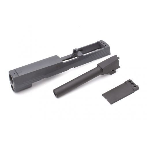 Pro-Arms CNC Steel P320 M17 Slide Kit for SIG / VFC M17 GBB series ( Grey Black ) ( Cerakote Limited Edition )
