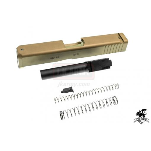 Pro-Arms CNC Steel Slide Set for Umarex Glock 19X ( DE )