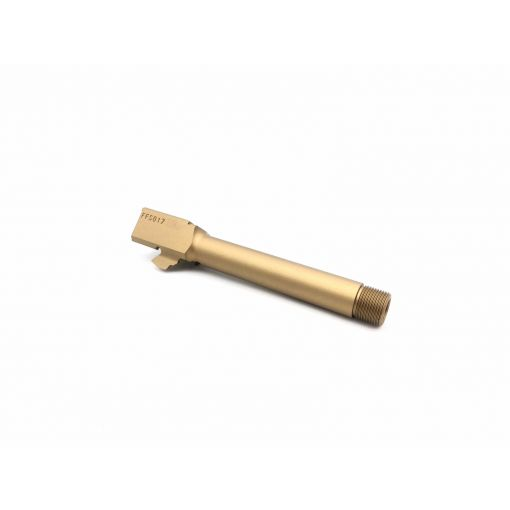 Pro-Arms 14mm CCW Threaded Barrel for UMAREX Glock 17 Gen 3/4 ( Gold )