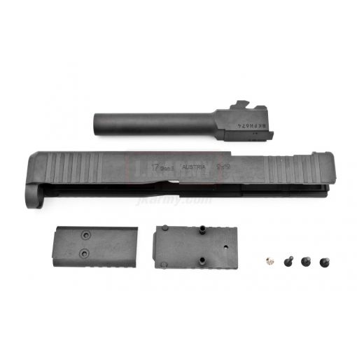 Pro-Arms 17 Gen5 Style MOS Steel Slide Set for Umarex Glock 17 Gen5 GBBP ( Black - Limited Edition )