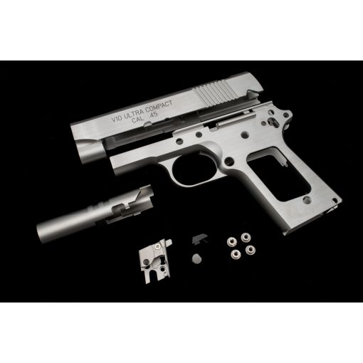 Pro-Arms SPR Style Stainless Steel Kit for Marui TM V10 GBBP Series ( Silver Limited Edition )