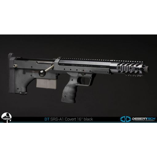 "Silverback SRS A1 Bullpup Sniper - BK ( 16"" Covert Long Barrel, Desert Tech Licensed )"