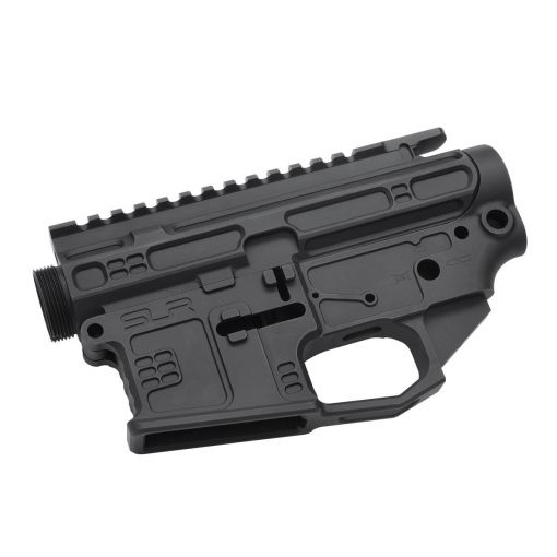 SLR Airsoft Works CNC Aluminum B15 Receiver for Marui TM M4 MWS ( Black ) ( Limited Edition )