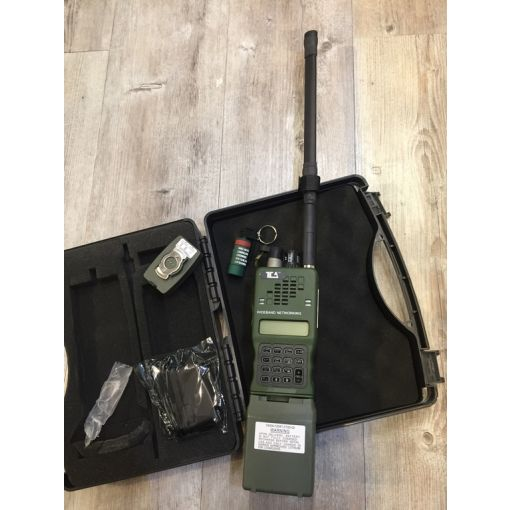 TCA 152A Single Antenna Aluminum Walkie-Talkie / MBITR Radio ( OD )