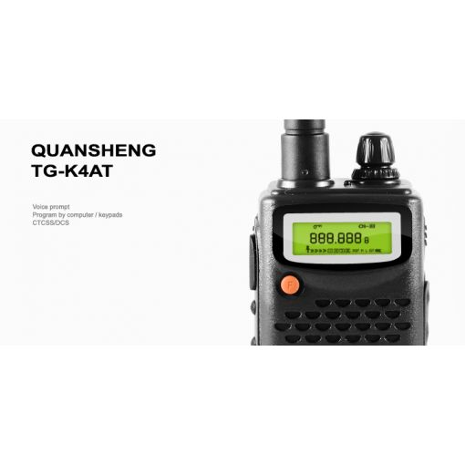 QUANSHENG TG-K4AT Radio ( 5W ) ( Kenwood Pin Ver. )