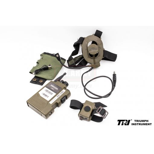 TRI 4855U (A) Personal Tactical Radio Walkie Talkie ( OD )