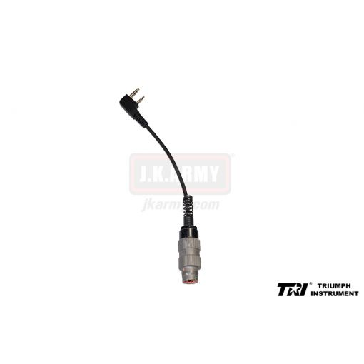 TRI Adapter Cable ( Kenwood to Military 6 pin )