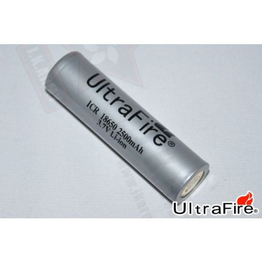 Ultrafire ICR 18650 2500mAh 3.7V Li-ion (Rechargeable)(Protected)(1pc)