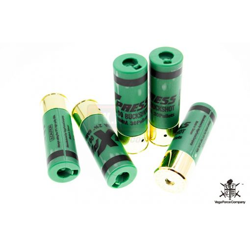 VFC Shot Shell for FABARM STF12 / SRF12 ( 5pcs / Set ) ( Green )