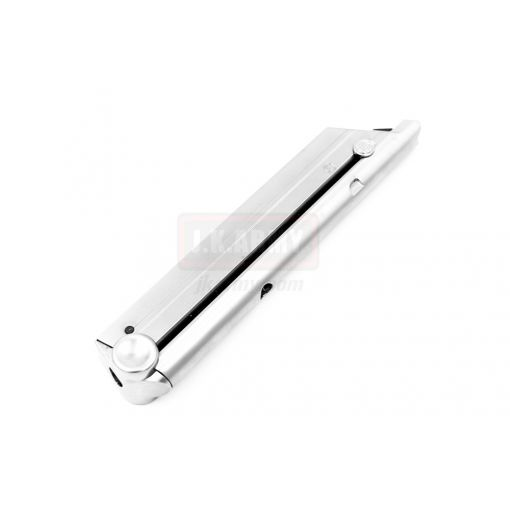 WE 15 Rds Magazine for Luger P08 GBB ( LGMG01 ) ( Silver )