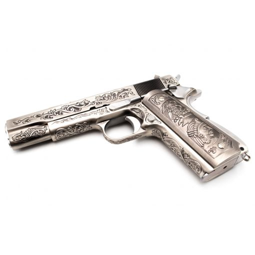 WE 1911 Classic Floral Pattern GBB Pistol Airsoft
