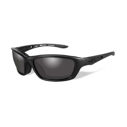 WILEY X Brick Grey Lens/Matte Black Frame Shooting Glasses