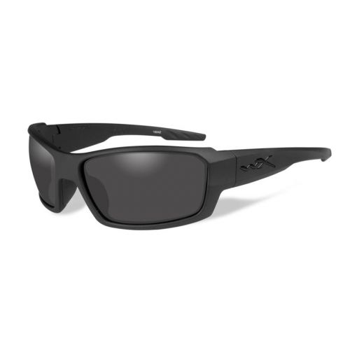 WILEY X Rebel Grey Lens/Matte Black Frame Shooting Glasses