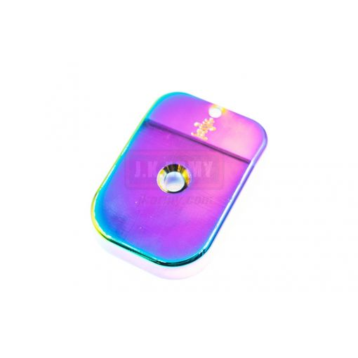 Watermelon Components Iridescent Aluminum Magazine Pad for TM-Hi-Capa ( Type 1 - 6 )