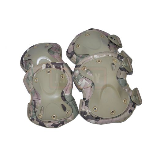 Transformers Style Tactical Knee And Elbow Pads Set ( MC )