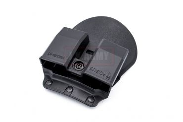 Fobus 6912ND Passive Retention with Adjustment Screw Double Magazine Pouch ( Black )