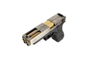 WE G35 Double Barrel ( SV ) GBB Pistol Airsoft