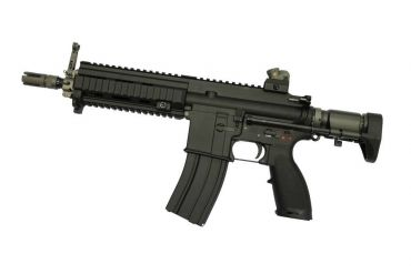 WE 416C Gas Blow Back Open Chamber Rifle Black Edition (GBB)