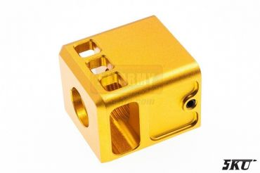 5KU 14mm- Stubby Comp for G Series ( Gold ) ( CCW )