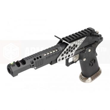 ARMORER WORKS HX2402 .38 Supercomp Race GBB Airsoft Pistol with Scope Mount