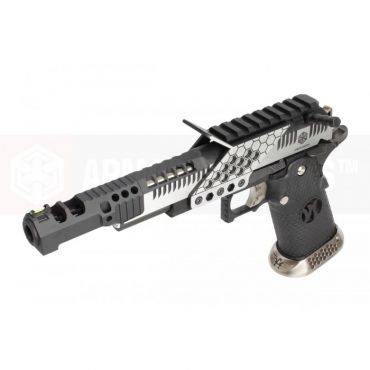ARMORER WORKS HX2401 .38 Supercomp Race GBB Airsoft Pistol with Scope Mount