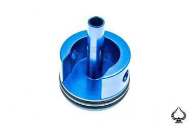 A1A Aluminum Cylinder Head for Ver.3 ( AK ) Gearbox Long w/ O-Ring ( Blue )